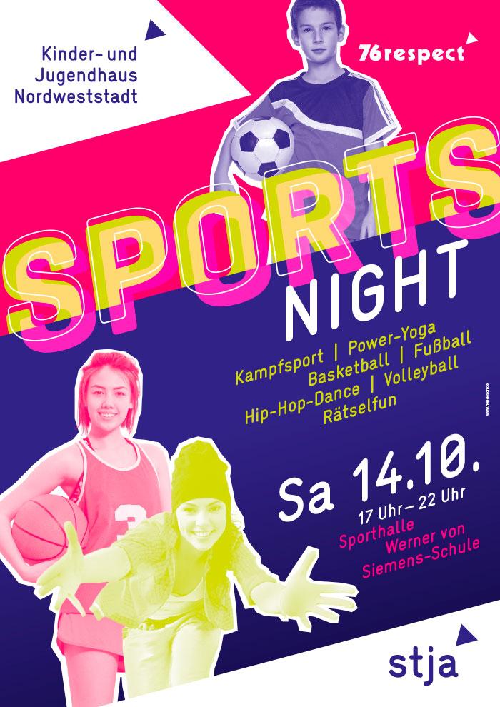 Kinder- und Jugendhaus Nordweststadt Sports Night